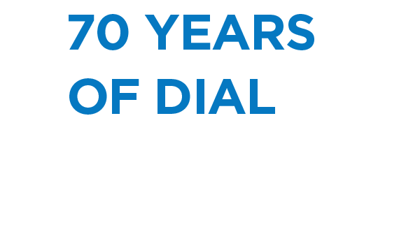 Dial 70 years of dial